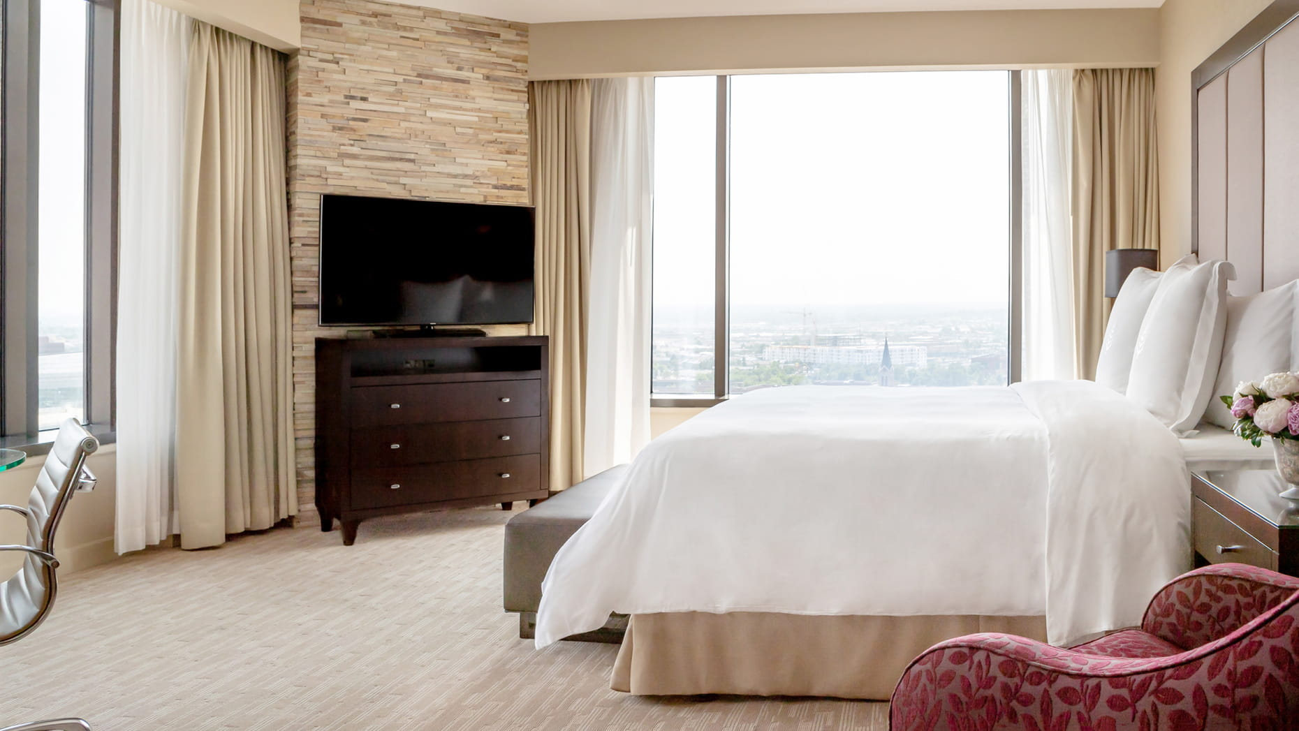 Four Seasons Hotel Denver hotel room with city view
