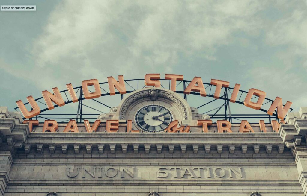 Union Station - andrew-preble--unsplash-Things to do in downtown denver