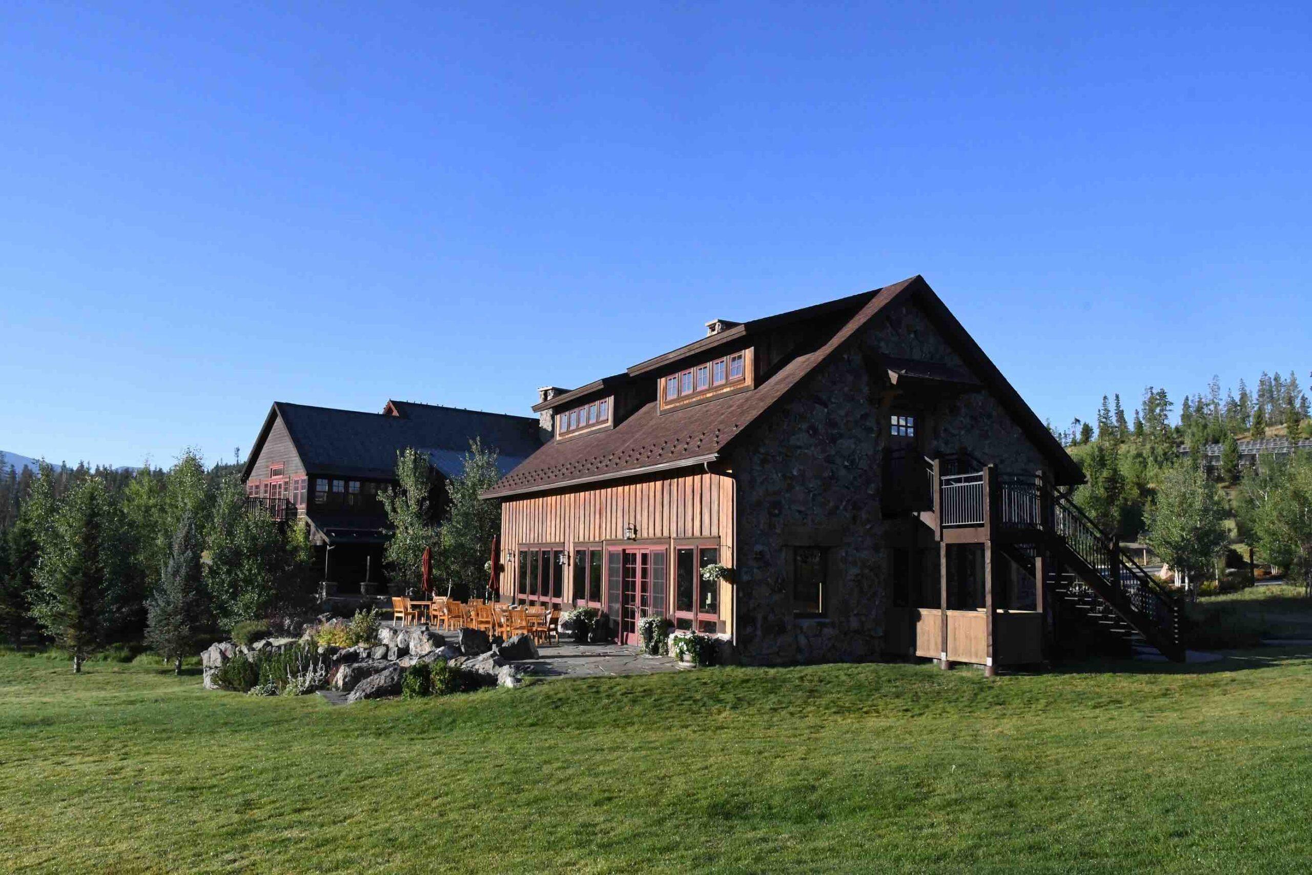 Devils Thumb Ranch main ranch buildings